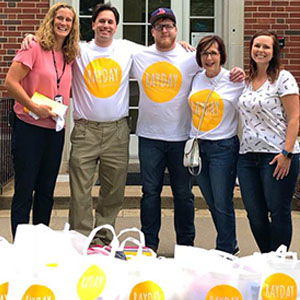 Lincoln Elementary Delivery
